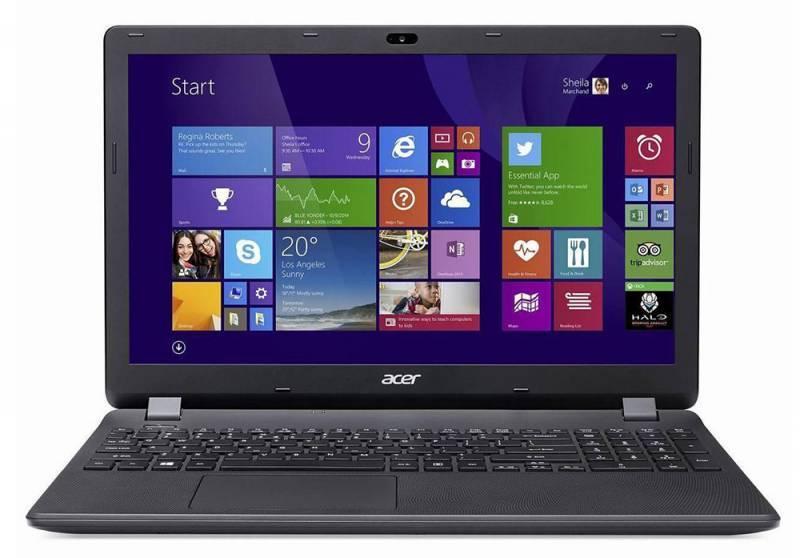 """Ноутбук 15.6"""" Acer Extensa EX2508-P4P3 черный - фото 2"""