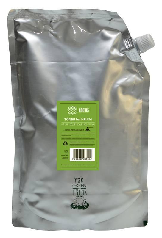 Тонер Cactus CS-THP4-10kg черный 10000грамм - фото 1