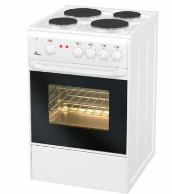 Плита электрическая Flama AE 1403 W белый