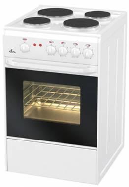 Плита электрическая Flama AE 1401 W белый