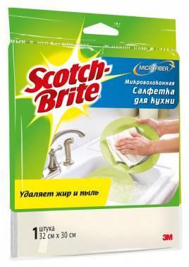 Салфетка для кухни 3M MW-K Scotch-Brite, 1шт. (7000039530)