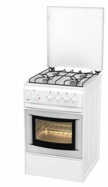 Плита комбинированная Flama AK 1411 W белый