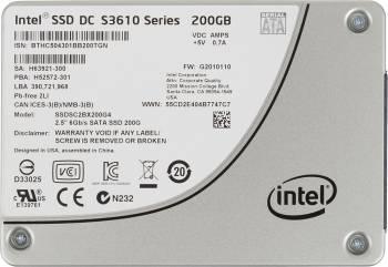 ���������� SSD 200Gb Intel S3610 Series SSDSC2BX200G401 SATA III