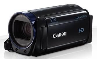 Видеокамера Canon Legria HF R606 черный - фото 1
