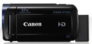 Видеокамера Canon Legria HF R606 черный - фото 3