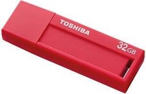 Флеш диск 32Gb Toshiba Daichi U302 USB3.0 красный