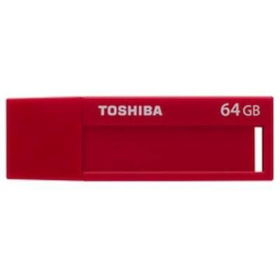 Флеш диск 64Gb Toshiba Daichi U302 USB3.0 красный - фото 1