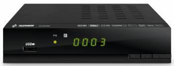 Ресивер DVB-T2 Telefunken TF-DVBT206 черный, разъемы HDMIx1, USBx1, 3 RCAx1, RCAx1, поддержка AVI, MKV, MOV, TS, VOB, MP4, MPEG, DAT, FLV, 3GP, M2TS, TRP, TP, M2T1 / MPEG1, MPEG2, MPEG4, H.263 H,264, AVS, DIVX, XVID, MJPEG, MP2, MP3, WMA, AC3, AAC, HEAAC,