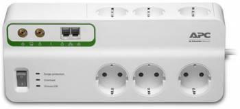 Сетевой фильтр APC PMH63VT-RS 3м белый