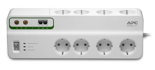 Сетевой фильтр APC PMF83VT-RS 3м белый - фото 1