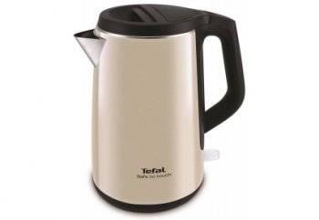 Чайник электрический Tefal KO371 I30 Safe to touch бежевый/черный (7211001804)