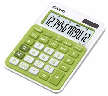 Калькулятор настольный Casio MS-20NC-GN-S-EC зеленый