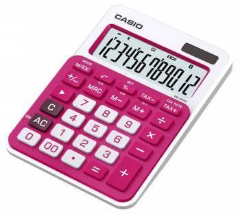 Калькулятор настольный Casio MS-20NC-RD-S-EC красный 12-разр.