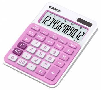 Калькулятор настольный Casio MS-20NC-PK-S-EC розовый 12-разр.