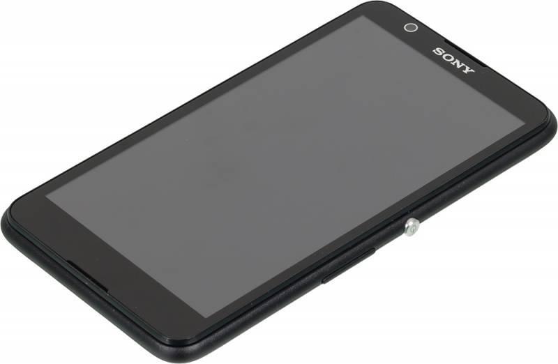 Смартфон Sony Xperia E4 E2105 8ГБ черный - фото 4
