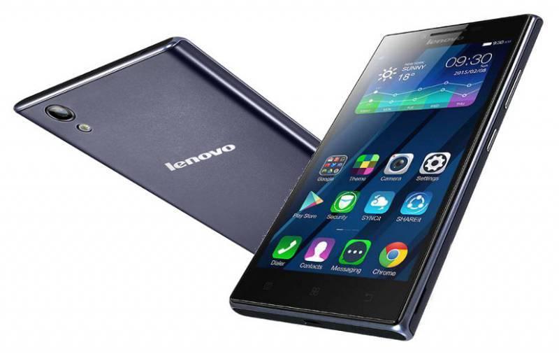 Смартфон Lenovo P70 16ГБ синий - фото 2
