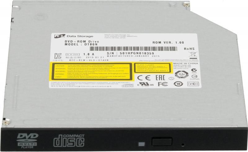 Привод LG DTС0N черный SATA slim - фото 1