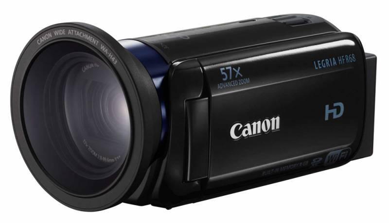 Видеокамера Canon Legria HF R68 черный - фото 1
