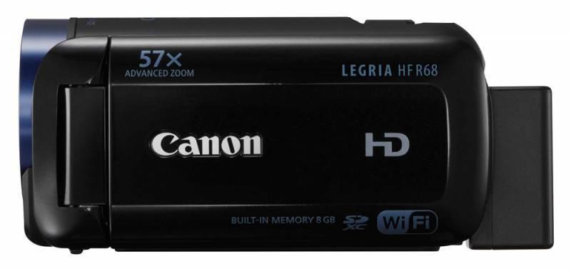 Видеокамера Canon Legria HF R68 черный - фото 2