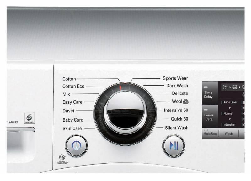 Стиральная машина LG F12A8HD серебристый - фото 5