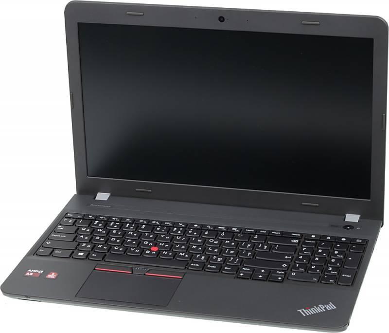 "Ноутбук 15.6"" Lenovo ThinkPad E555 черный - фото 1"