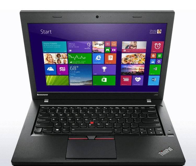 "Ноутбук 14"" Lenovo ThinkPad L450 черный - фото 1"