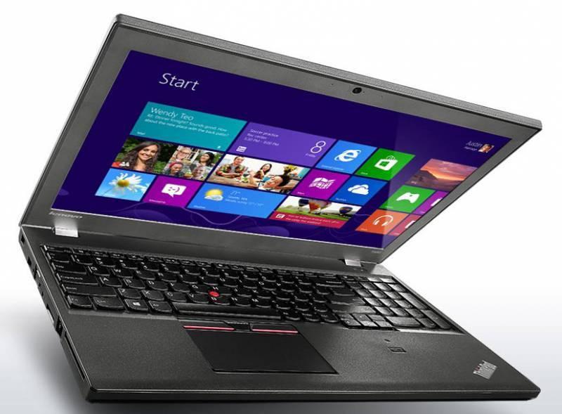 "Ноутбук 15.6"" Lenovo ThinkPad T550 черный - фото 2"