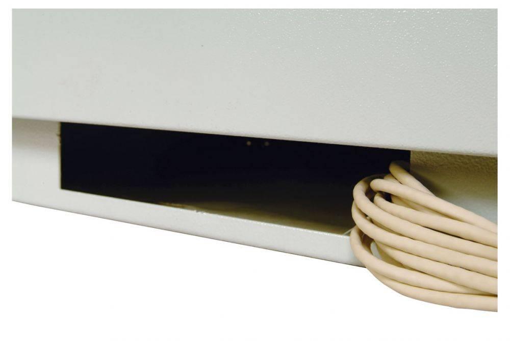 Шкаф коммутационный ЦМО ШТК-М-22.6.10-4ААА 22U серый - фото 4