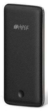 Мобильный аккумулятор Hiper PowerBank XP6500 черный, емкость батареи 6500mAh, USB разъемов 1, сила тока на выходе 2.1A