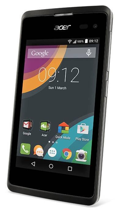 Смартфон Acer Liquid Z220 8ГБ черный - фото 1