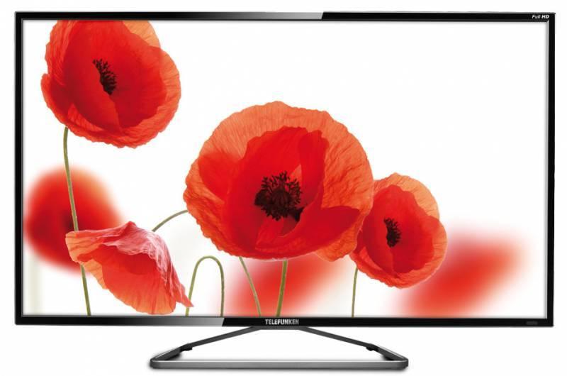 """Телевизор LED 39"""" Telefunken TF-LED39S35T2 черный - фото 1"""