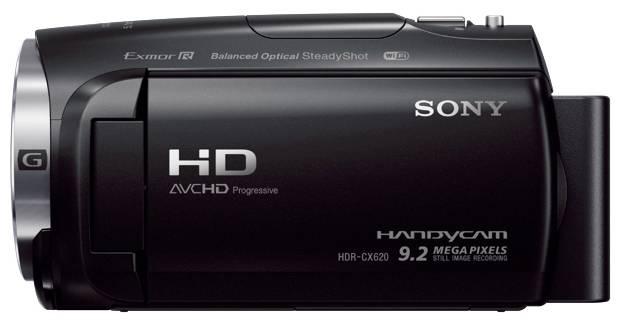 Видеокамера Sony HDR-CX620 черный - фото 2