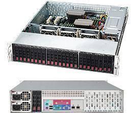 Корпус SuperMicro CSE-216BAC-R920LPB 920 Вт черный (CSE-216BAC-R920LPB) - фото 1