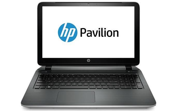 "Ноутбук 15.6"" HP Pavilion 15-p202ur (L1S76EA) серебристый - фото 1"