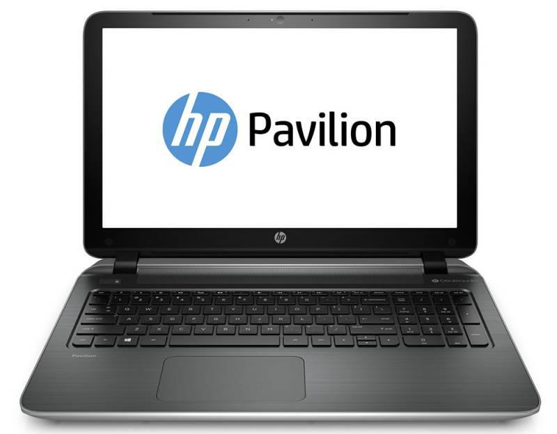 "Ноутбук 15.6"" HP Pavilion 15-p252ur серебристый - фото 2"