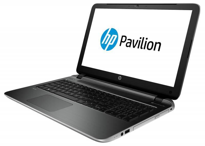 "Ноутбук 15.6"" HP Pavilion 15-p252ur серебристый - фото 3"