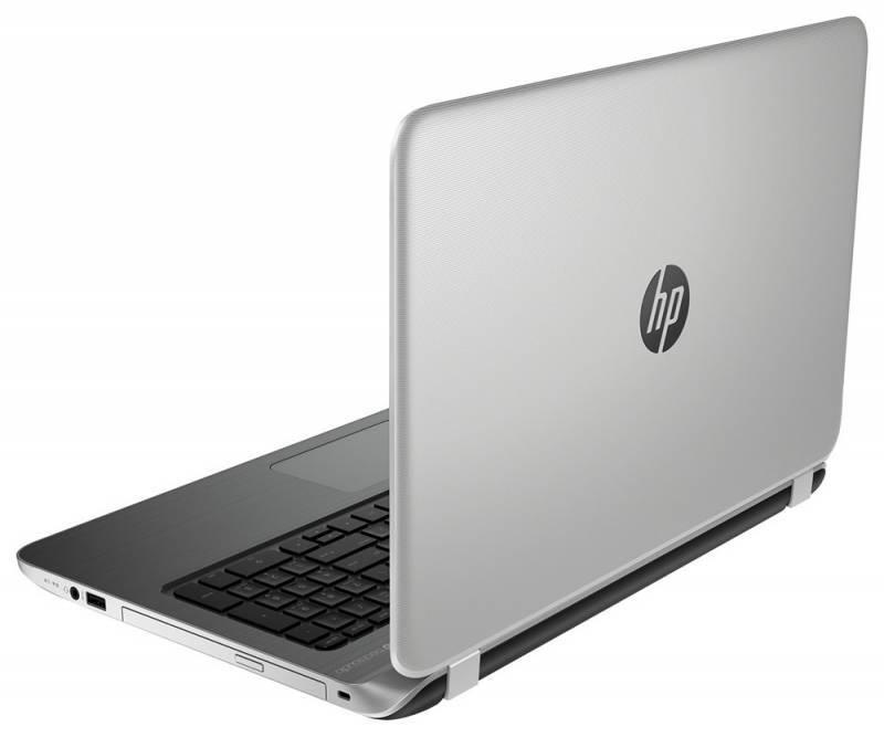 "Ноутбук 15.6"" HP Pavilion 15-p252ur серебристый - фото 4"