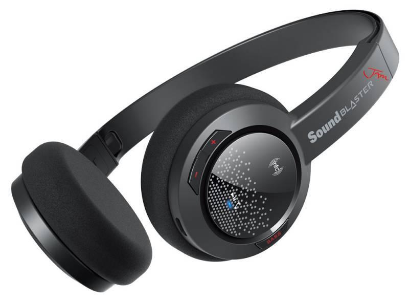 Наушники с микрофоном Creative Sound Blaster Jam черный - фото 2