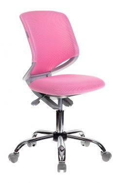 Кресло детское Бюрократ KD-7 розовый (KD-7/TW-13A)