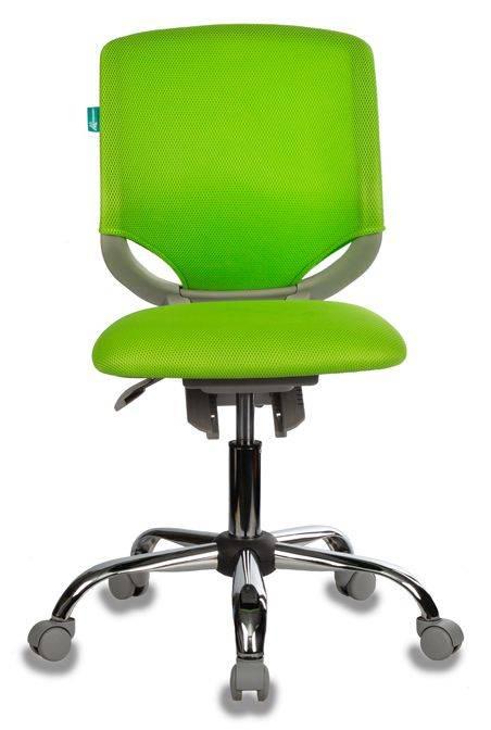 Кресло детское Бюрократ KD-7 салатовый (KD-7/TW-18) - фото 2