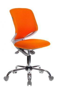 Кресло детское Бюрократ KD-7 оранжевый (KD-7/TW-96-1)