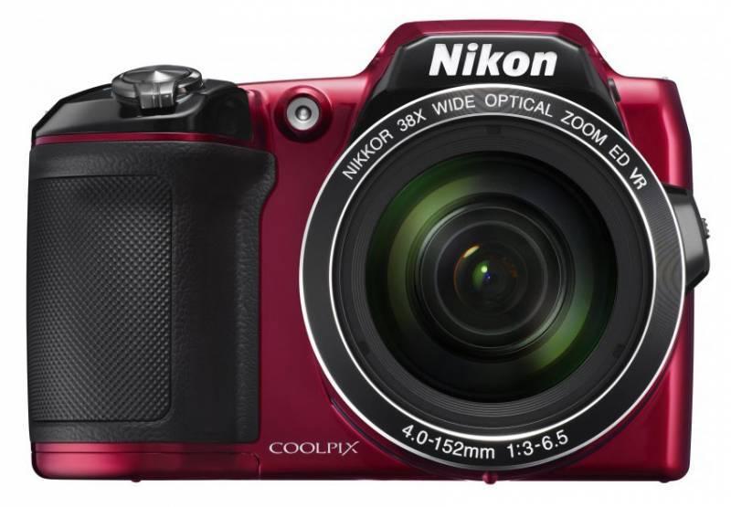 Фотоаппарат Nikon CoolPix L840 красный - фото 1