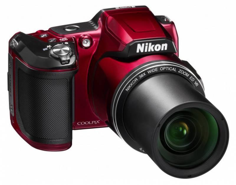 Фотоаппарат Nikon CoolPix L840 красный - фото 3