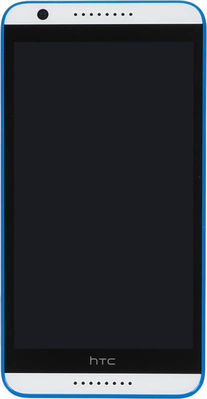 Смартфон HTC Desire 820 белый/синий - фото 1