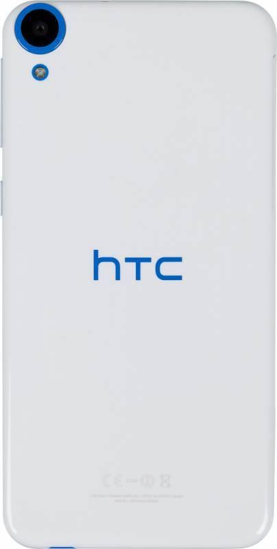 Смартфон HTC Desire 820 белый/синий - фото 3