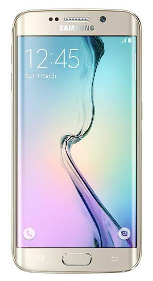 Смартфон Samsung Galaxy S6 Edge SM-G925F 32ГБ золотистый - фото 1