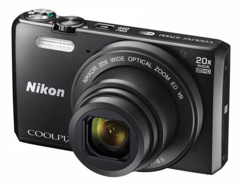 Фотоаппарат Nikon CoolPix S7000 черный - фото 2