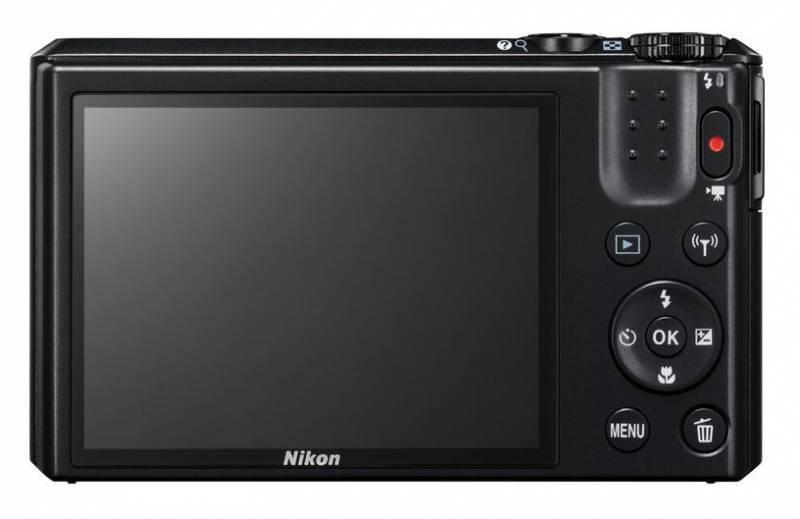 Фотоаппарат Nikon CoolPix S7000 черный - фото 4
