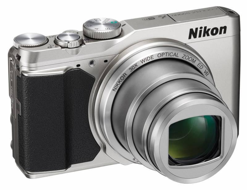 Фотоаппарат Nikon S9900 серебристый - фото 1
