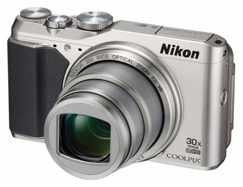 Фотоаппарат Nikon S9900 серебристый - фото 2